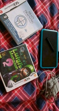 Nintendo 2DS XL. iki oyunlu. Brain Training + Luig Bursa