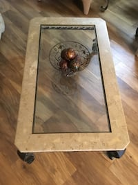 Iron&Glass Coffee and End Table Port Saint Lucie, 34983