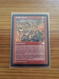 NM-M MTG Goblin Bomb Weatherlight. Whitby, L1P 1A1
