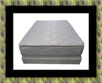 Pillowtop mattress with box spring East Riverdale