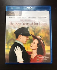 THE BEST YEARS OF OUR LIVES BLURAY Compton, 90221