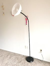 Floor lamp and side table