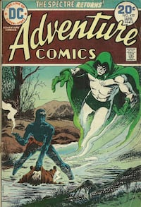 1974 - # 432 - ADVENTURE Comics - The Spectre Returns  reader grade Pick-up in Newmarket Newmarket
