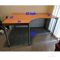 Pretty New office L shape Table Richmond