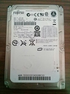 Fujitsu Notebook Dahili Hdd 120 Gb