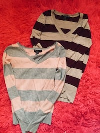 Two v-neck sweatshirts small size St Albert, T8N 3M6