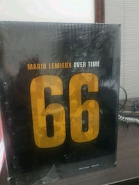 Mario Lemieux: over time - book