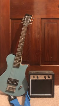 First act electric guitar with am 35 km