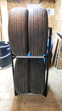 Set of 4 tires. 225/55R17