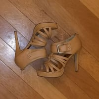 Tan strappy heels Westminster, 21157