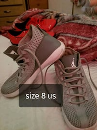 pair of gray Adidas low-top sneakers Bakersfield, 93301