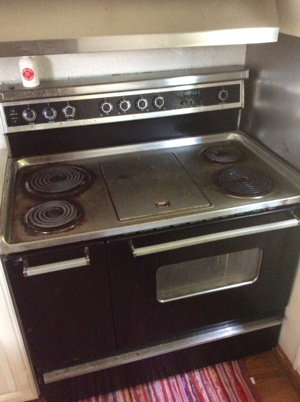 Used 40 Inch Gourmet Edition Dual Oven Electric Range By Kenmore W Center Griddle Burner For In Columbus Letgo