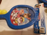 drum paddle game rackets paw patrol X4 Calgary