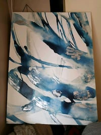 Canvas painting Burlington, L7P