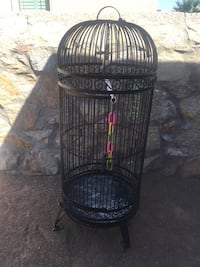 Black wrought iron birdcage El Paso, 79938