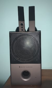 Speaker With Subwoofer