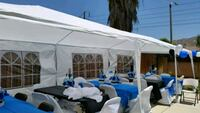 white and blue canopy tent Placentia, 92870