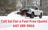Affordable Snow removal plowing shoveling  Pickering