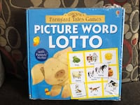 Picture Word Lotto Bingo Usborne Farmyard Tales North Edmonton  Edmonton, T5E 1C5
