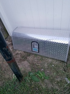 Stainless steel truck tool box