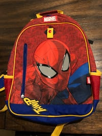 Backpack- spider man  Gaithersburg, 20878