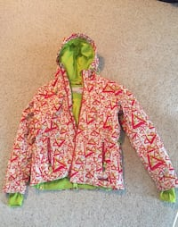 green,white,and pink zip up hoodie jacket Victoria, V8P 5L9