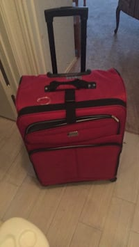 red and black luggage bag Irving, 75061