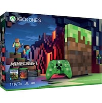 New XBOX ONE S 1TB Minecraft edition  Annapolis, 21403