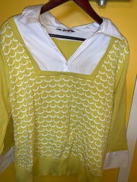 YELLOW AND WHITE DRESS SHIRT FROM THE BAY Toronto, M6P 2T3