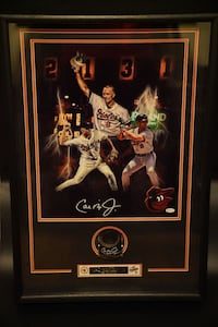 Cal Ripken Double autographed framed  District Heights, 20747
