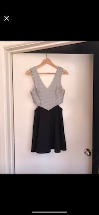 Black and white dress Clayton, 3168