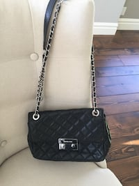 Good condition Micheal Kors black quilted purse Rocky View No. 44, T3R 1B5