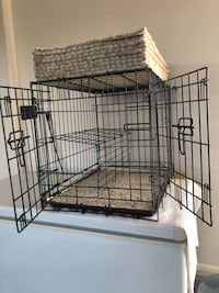 black metal folding dog crate 2315 mi