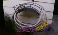 New Powder Coated Metal Garden Hose Hanger Lanham