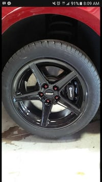 radial tire with 5-spoked rims Vancouver, V5M 2P5