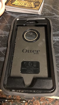 black and gray OtterBox iPhone case Beloit, 53511
