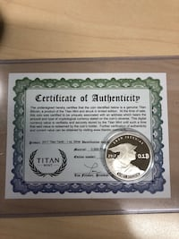 Physical loaded bitcoin coins for sale Charlotte, 28217