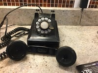 Vintage Black Rotary Phone  - Bell System Western Electric Washington, 20012