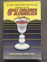 Adult Children Of Alcoholics, NY Times bestselling book very good cond