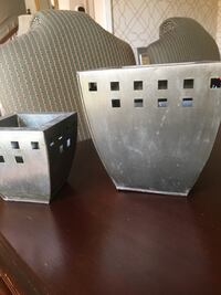 Two Flower Pots (or Candle Holders)