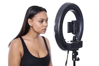 "13"" LED Diva Ring Light by Fodoto (great for shooting blogs, makeup, eyelashes, photos & more) Toronto"