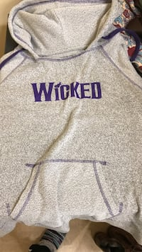 gray Wicked pullover hoodie San Marcos, 78666