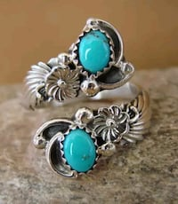 Navajo Turquoise Ring King George, 22485