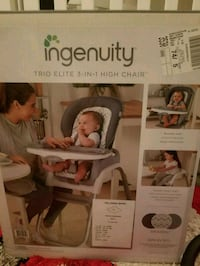 Ingenuity 3 in 1 high chair  Toronto, M4H 1L5