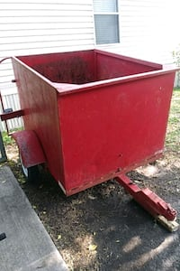 4X5 trailer with ramp.