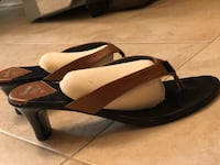 Three pairs of summer sandles, size 8 Mississauga, L5G
