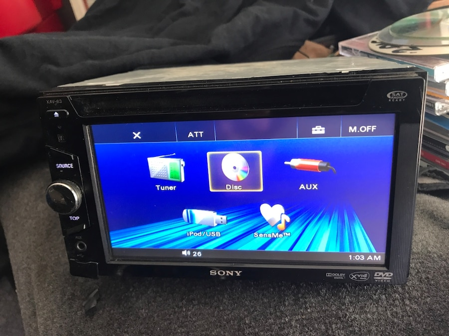 Sony double din  - CA