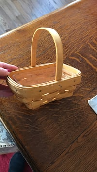 Longaberger mini basket Woodbridge, 22192