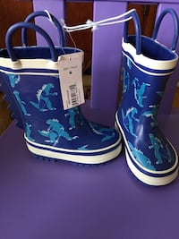 Size 4 Toddler Rain Boots Mississauga