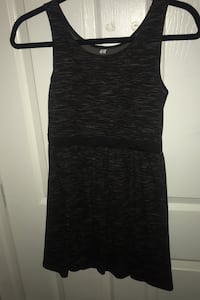 Black and grey sundress for ages 10-12